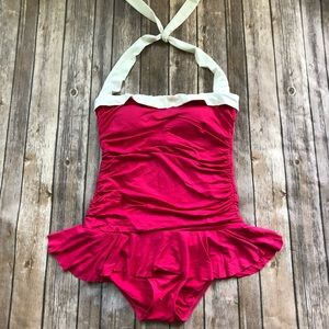 Ralph Lauren One Piece SwimSuit Size 12